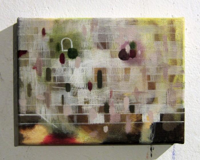 Teufel (2012 18 x 24cm tempera/ oil on canvas)
