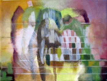 Ein Paar (2012 18 x 24cm tempera/ oil on canvas)