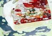 Erinnerung (2008 85 x 100cm tempera/ oil on canvas )