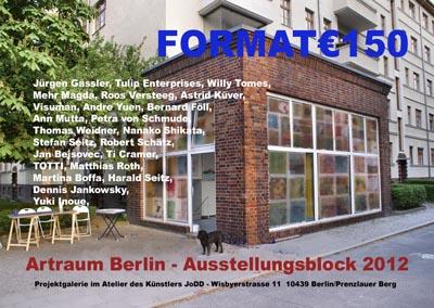 m Artraum Berlin - Projektgalerie des Kunstlers JoDD Wisbyerstrasse 11,  10439 Berlin/Prenzlauer Berg