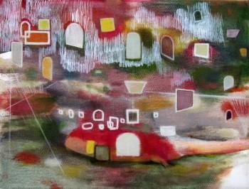 Requiem (2012 18 x 24cm tempera/ oil on canvas)