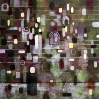 Sorrow (2012 40 x 40cm tempera/ oil on canvas)