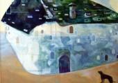 Unterwegs (2008 85 x 100cm tempera/ oil on canvas)