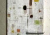 Waiting (2012 24 x 18cm tempera/ oil on canvas)