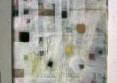 Wondering (2012 24 x 18cm tempera/ oil on canvas)