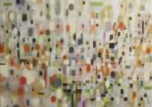 Ecstacy (85 x 90 cm, egg tempera/ oil on canvas 2013)