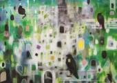 Aberglaube (85 x 90 cm, egg tempera/ oil on canvas 2013)