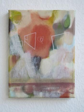 The Sun Also Rises (2012 18 x 24cm tempera/ oil on canvas)